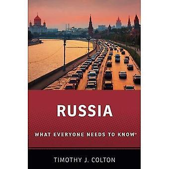 Rússia: O que todo mundo precisa saber
