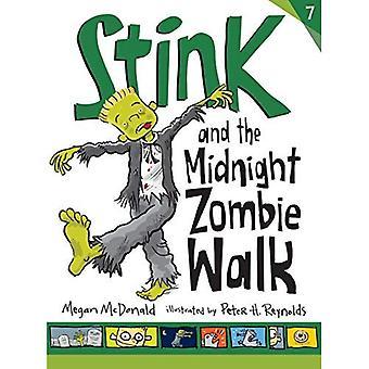 Puanteur et le Zombie de minuit à pied (Stink série #7)