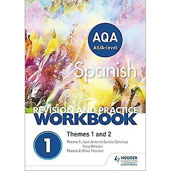 AQA Abitur spanische Überarbeitung und Praxis Arbeitsmappe: Themen 1 und 2 (Taschenbuch)