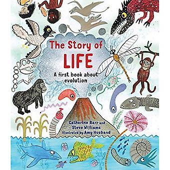 Historien om liv: en första bok om evolutionen (Häftad)