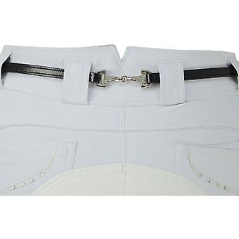 Hy Womens/Ladies Elegant Diamante Snaffle Bit Belt