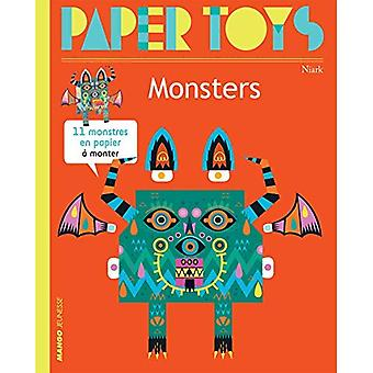 Paper Toys - Monsters (new� Edition): 11 Paper Monsters to Build