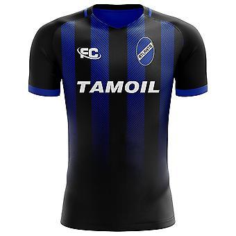 2018-2019 Atalanta Fans kultur hem Concept skjorta
