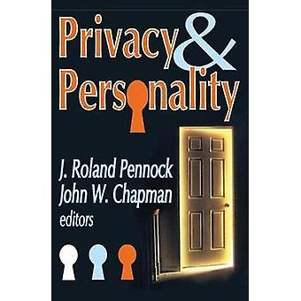 Privacy en persoonlijkheid door W Chapman