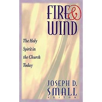 Brand og vind Helligånden i kirken i dag ved små & Joseph D.