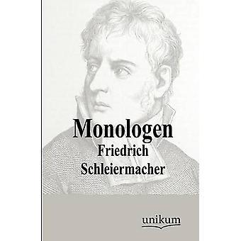 Monologen by Schleiermacher & Friedrich
