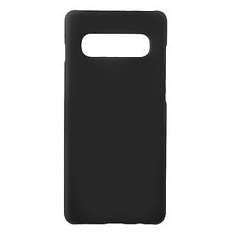 Samsung Galaxy S10 + carcasa en negro plástico duro
