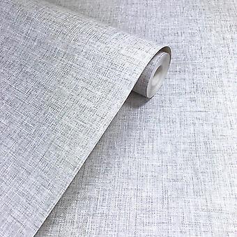 Leinenstruktur Licht graue Tapete gewebt Wirkung moderner Feature Luxus Arthouse