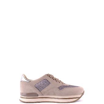Hogan Hxw2220n624g440qz9 Damen's Beige Wildleder Sneakers