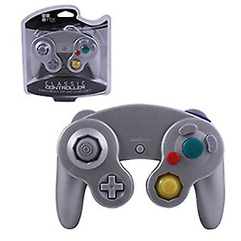 TTX Tech Wired Controller für Wii/Gamecube - Silber