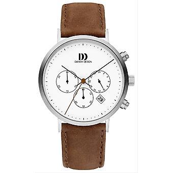 Deens design Urban Berlijn horloge-bruin