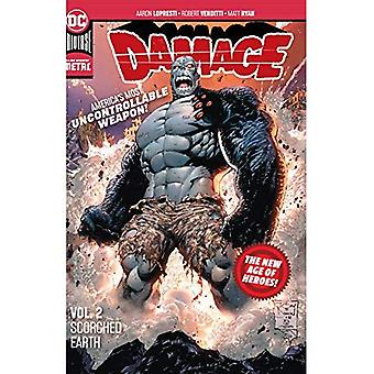 Damage Volume 2: Scorched Earth: New Age of Heroes