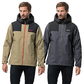 Jack Wolfskin Mens 2019 Jasper Peak Waterproof Jacket