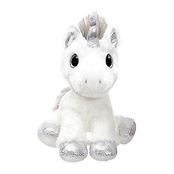 """Sparkle Tales 12 """"Silver Twilight yksisarvinen pehmo lelu"""