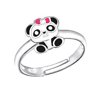 Dzieci&s Sterling Silver Panda Ring