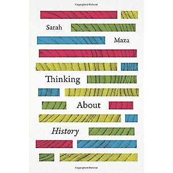 Thinking About History by Sarah Maza - 9780226109336 Book