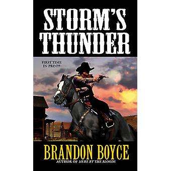 Storm's Thunder by Brandon Boyce - 9780786035229 Book