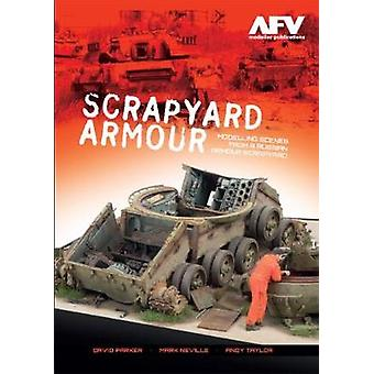 Scrapyard Armour - Scenes from a Russian Armour Scrapyard by David Par