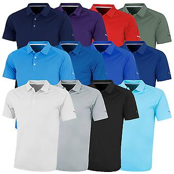 Puma Golf Herren Essential Pounce Cresting DryCell Tech Polo Shirt