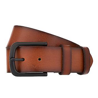 MONTI DALLAS Belt Men's Belt Leather Belt Cognac 8031