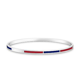 American University Bracelet In Sterling Silver Design by BIXLER