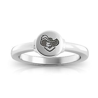 Xavier University Engraved Sterling Silver Signet Ring