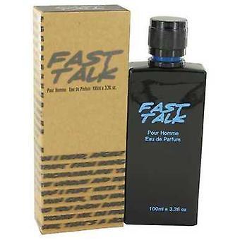 Fast Talk By Erica Taylor Eau De Parfum Spray 3.4 Oz (men) V728-533086
