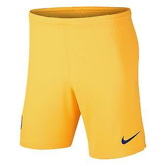 2019-2020 Barcelona Away Nike Football Shorts (Gelb)
