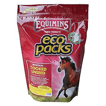 Trilanco Equimins gekookt lijnzaad 3kg Eco Pack