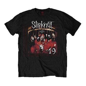 Men's Slipknot Debut Album 19 Years Black T-Shirt