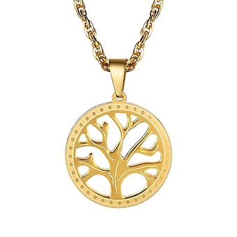 Necklace, Tree of Life-gold