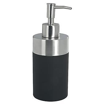 Wenko jabón dispensador creta negro (accesorios de baño, plato de jabón y dispensadores)
