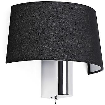 Wellindal Hotel Wall Lamp 1 X E27 60W (Lighting , Interior Lighting , Wall lamps)