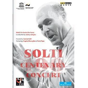 Solti hundredårsdag koncert [DVD] USA importerer