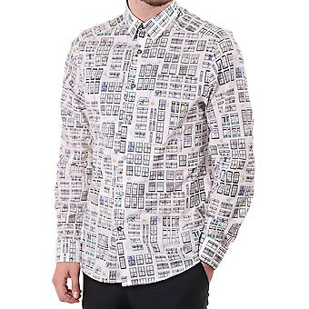 PS Paul Smith Slim Sc Shirt With Allover Print