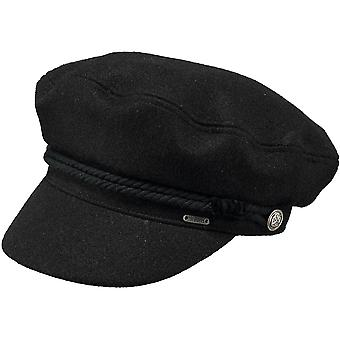 Barts Womens Skipper Adjustable Lined Blended Wool Flat Cap