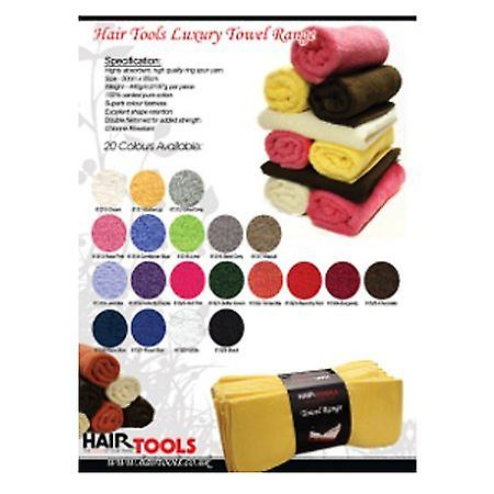 Hair Tools Hairdressing Towels - Cream (12)