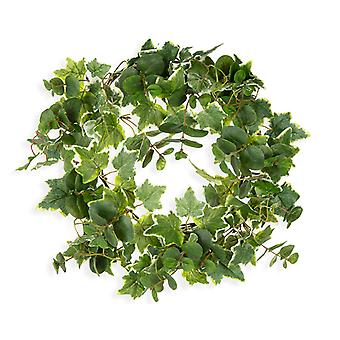 SALE - 48cm Artificial Ivy and Euclayptus Foliage Wreath for Christmas Crafts