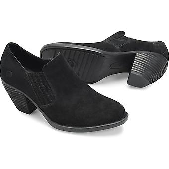 B.O.C Womens Born Fredrika Leather Closed Toe Casual Slide Sandals