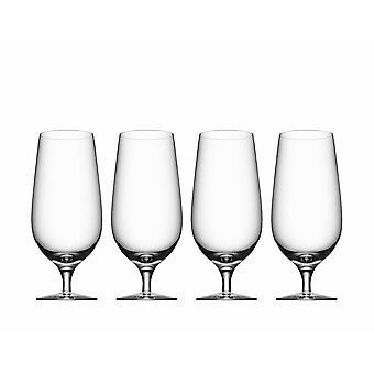 Orrefors-Beer-Lager-4th-Beer glass Design Erika Lagerbielke