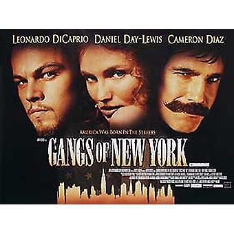 New Yorkin jengit (yksipuolinen) alkuperäinen elokuva teatteri juliste