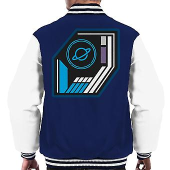 The Crystal Maze Basic Planet Badge Men's Varsity Jacket
