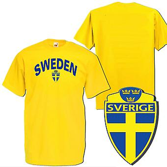 Sweden Gul Sweden T-shirt with printed design