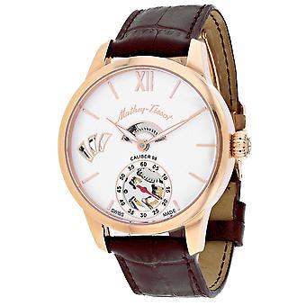 Mathey Tissot Men's Endmond White Dial Watch - AM1886PZ