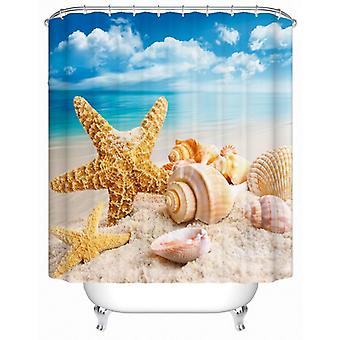 Seashells At The Beach Shower Curtain