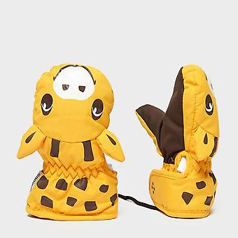 New Snowlife Kids' Animal Mitt Orange