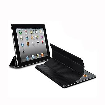 XtremeMac Carbon Fiber Micro Folio for iPad 2 3 4 Black