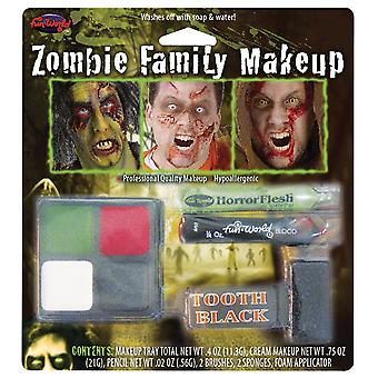 Zombie Character Make Up Kit