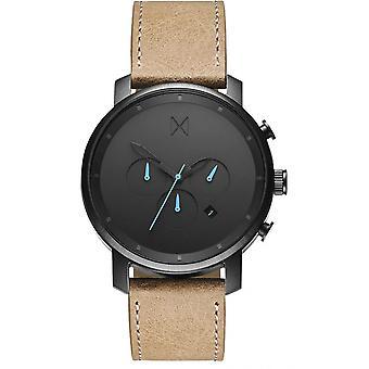 MVMT D-MC01GML klocka-mäns brunt läder TimeWatch
