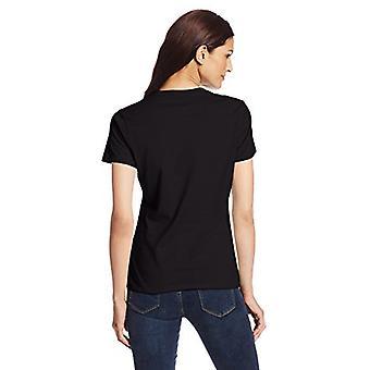 Hanes Women's Nano T-Shirt, Large, Black